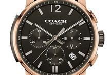 Coach Watches! / Coach Launch a watch line.