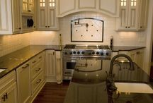 Custom Kitchens / This board discloses the quilty kitchens Widing Custom Homes has built customers to fit their upmost desires.
