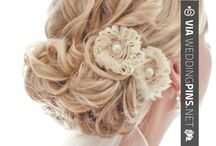 Wedding Hair Updos / These wedding hair updos are some of the best most brilliant wedding hair updo examples out there! It takes a lot of work to make wedding hair updos really unique and classy, so these serve as great illustrations of the best in class! Enjoy the wedding hair updos board below! ;)