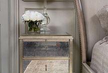 mirror nightstand