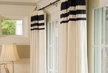 Curtain and blind ideas and advice / We make curtains and blinds here at The Dormy House. Get inspired with these window treatment ideas for every room
