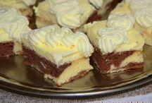 Kitűnő sütemény vaníliás krémmel
