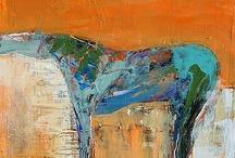 Animals;painted