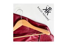 Suit Hangers / The Kazzi Kovers Suit Hanger Collection is premium quality, and is beautifully crafted from European Beech Wood. These stylish hangers are purposed for your suits, jackets, blazers, and garments with broader shoulders and promotes garment longevity and structure. Each suit hanger is custom made, and displays a smooth gloss finish.