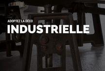 Décoration industrielle / Métal patiné, bois vieilli, le style industriel est toujours aussi tendance ! Alors, pour mettre de l'indus dans votre déco, découvrez nos idées !