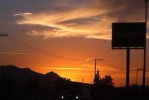 Atardecer en Aguascalientes