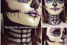 Kreslení na obličej a masky