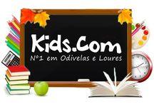Kids.com Design / Trabalho de estágio para o Centro de workshops KIDS