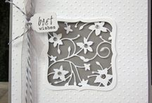Die cuts on cards