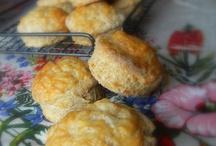 muffins, scones, bagels, pretzels, etc