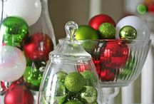 Christmas and New Year Decor / Decorating, candle
