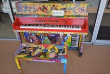 Pop Up Pianos Seminole County / Pianos have popped up all over Seminole County to promote the Arts!  Everyone is welcome to sit down and tickle the ivories, whether you can play...or not.