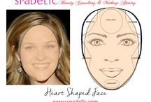 """Facial Anatomy and Makeup / Makeup is not """"one size fits all"""".   The best makeup artists have an indepth understanding of color theory and facial anatomy."""