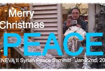 Syria / A board by the Syrian PEACE MESSENGER! www.peacemessenger.net