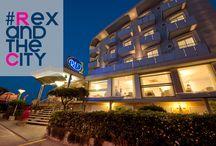 A BORDO DEL REX / L'Hotel Rex 3 stelle di Riccione, forte di mezzo secolo di esperienza di gestione della famiglia Vanucci, è il luogo ideale in cui trascorrere un'indimenticabile vacanza piena di suggestione e di emozioni.