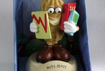 Nuts About Work / Our cute and quirky little nut characters are styled in a whole variety of occupations from Doctor to Bus Driver to Computer Whizz.