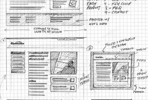 Sketching for webdesign ilike / Wireframes UX /UI, web design, webdesign