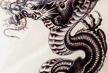ドラゴン 刺青