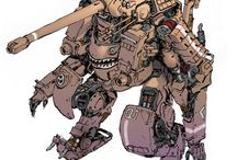 Concept Art Mechas