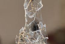 Tutos : Toiles d'araignée & Vieux débris / Miniatures au 1/12ème  -  Maisons de poupées -