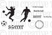 Soccer / Inspiration for this stamp set!