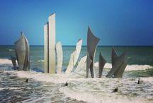 Colleville sur Mer Normandië Omaha beach.
