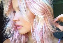 Любимые оттенки окрашивания волос