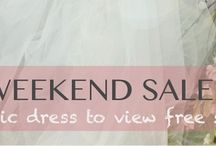 SALES / Perfect Bridal One Week Sale starts today 5/5 - 5/11. / by Perfect Bridal