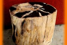 Wood Stool / Beautiful wooden stools.