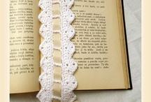 Háčkováná záložka - crochet bookmark