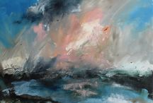 Amy Fitzgerald Landscapes / Contemporary landscape paintings inspired by the landscape and stories of the Fens.