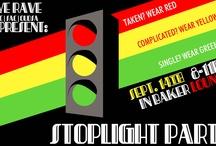 Stoplight Party / www.LuluMarketingandEvents.com