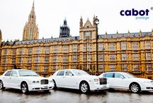 White Rolls Royce Phantom / Book with Cabot Prestige for a professional chauffeur car service