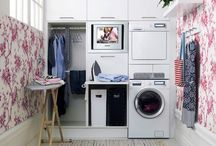 Laundry room / by Crystal Strickland