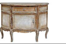Shabby chic bútorok / Shabby chic stílusú bútorok, vidéki, romantikus stílusú bútorok