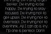 I'm trying....
