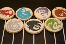 How To Train Your Dragon CUPCAKES!!!!!