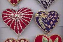 Handsewn Ornaments