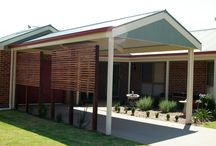 Carports / Shelter your valuable vehicles from the elements with a carport from THE Shed Company's extensive range of designs. Carports can add a new dimension to your residential property, working well as a covered recreation area for the family or as sheltered storage space for vehicles, machinery or tools.
