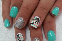 Spring, Summer nails