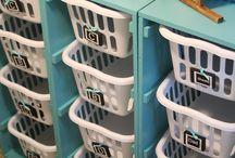 Organize: Bathroom & Laundry Room / by Ruth Clark