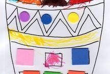 Activité : afrique géographie // assistante maternelle / Assistante maternelle nounou enfant crèche RAM MAM petite enfance bébé activité et jeu géographie monde ief continent afrique