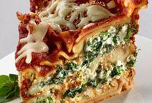 Food: Lasagna