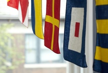 Signal Flags / Signal flags are always a source of inspiration for our collections.