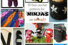 Crochet ~ Ninja / by Cindy Valdez Salgado