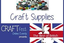 #CRAFTfest Best of British Feb 2016 - Craft Supplies Category! / Sellers with stalls in the craft supplies category of the Feb #CRAFTfest Best of British Event share with us their creations. http://craftfest-events.com/supplies.html
