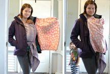 DIY Babywearing Coats or Jacket Extenders