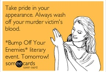 *Bump Off Your Enemies* literary event