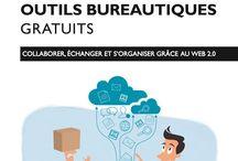 Livre Les nouveaux outils bureautiques gratuits / by christophe blazquez