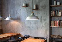 ŚCIANY / pomysł na wykończenie ścian w pubie